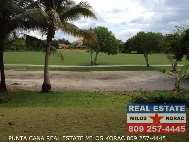 Two bedrooms first floor Golf view condo for rent in Cocotal Golf course and Country Club