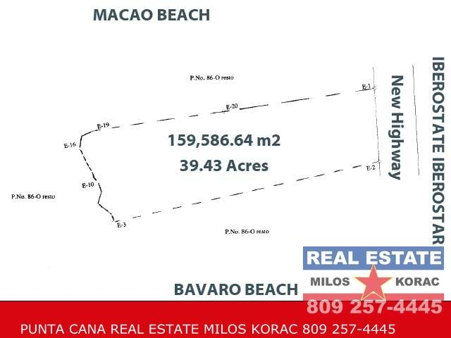 Land parcel in Bavaro for sale