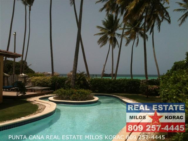Luxury Beachfront Los Corales Bavaro Rental