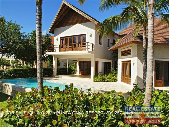 Puntacana resort Villa for sale - C26