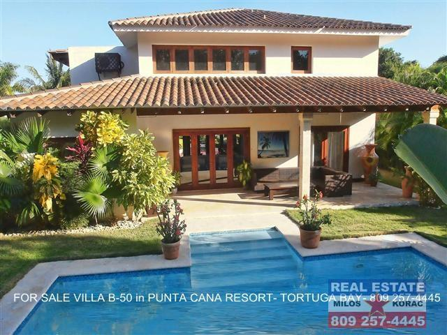 Puntacana resort Villa for sale in Tortuga Bay B50
