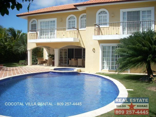 Punta Cana Rentals Cocotal Golf Villa for rent