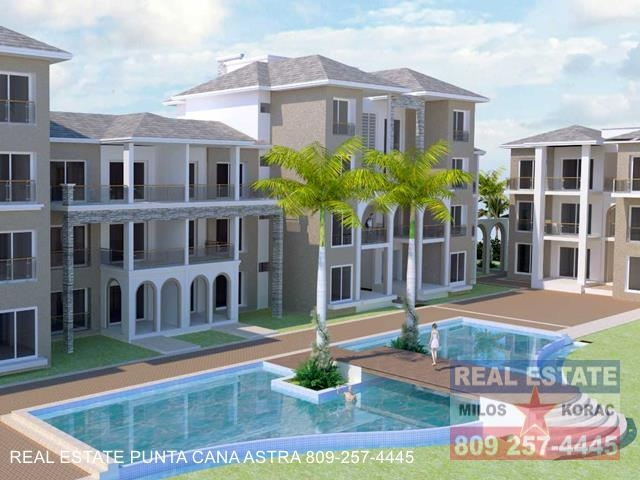 Cana Pearl Punta Cana condos for sale in Cana Bay Golf course