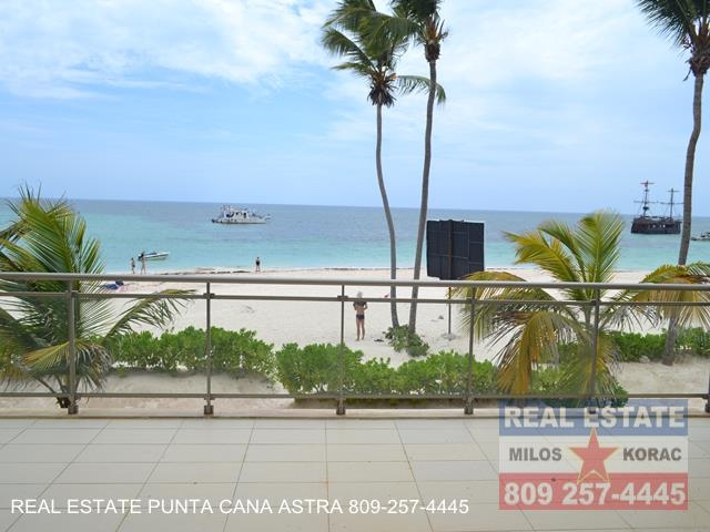 Costa Atlantica Punta Cana beachfront apartments Bavaro beach for sale