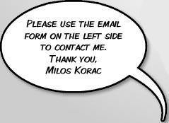 Contact Milos Korac