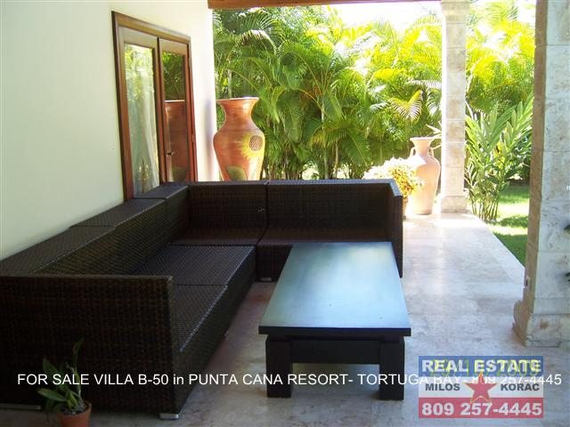 Puntacana resort Villa for sale in Tortuga Bay