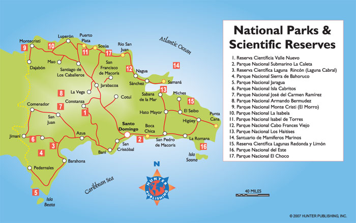 Dominican Republic National Parks