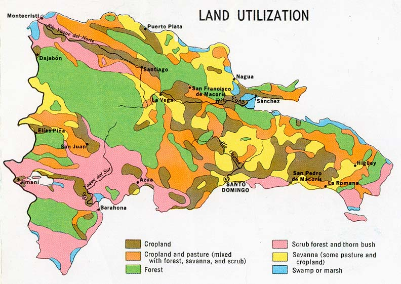 Dominican Republic Land Utilization