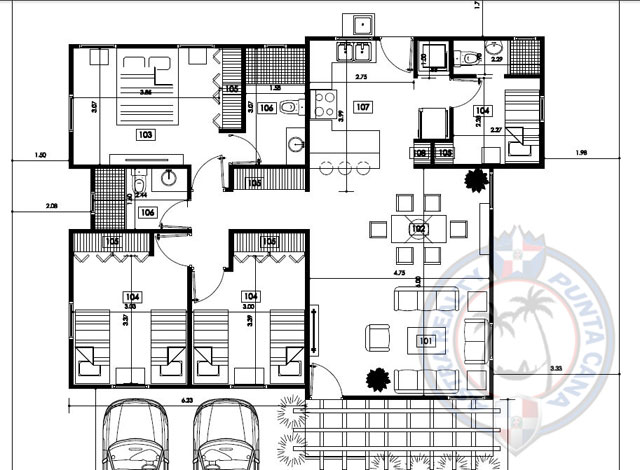 Las Palmas Punta Cana Royal A - floor plan