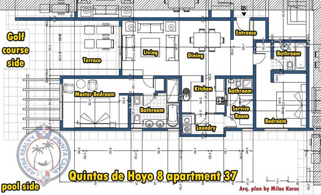 Plans apartment Quintas de Hoyo 8